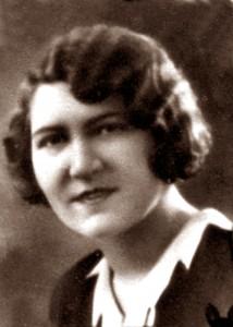 Fot. 1a. Józefa Waga, około 1929 rok