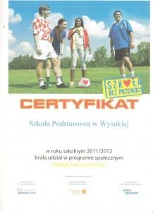 certyfikat 9 001