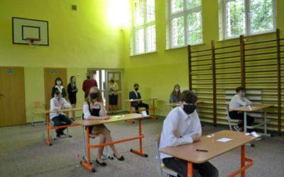Sprawdzian ósmoklasisty w reżimie sanitarnym