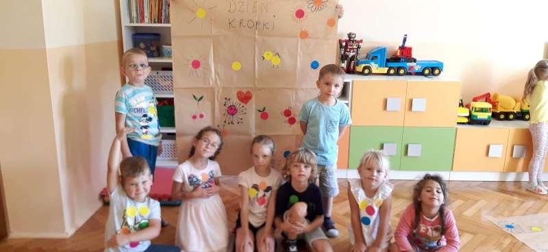 Dzień kropki w przedszkolu